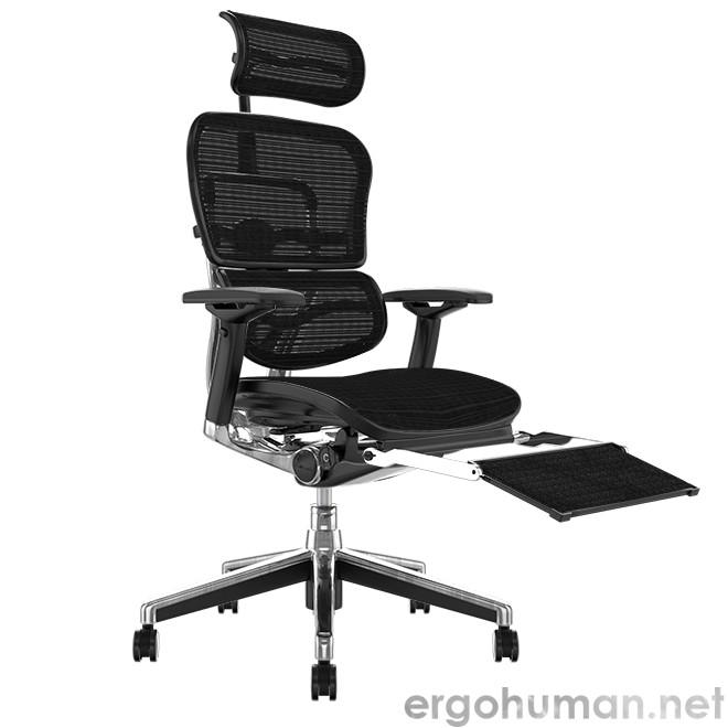 Ergohuman Elite Mesh Office Chair with Leg Rest